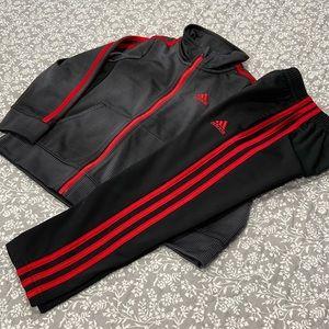 Like New Adidas Warm Up Set
